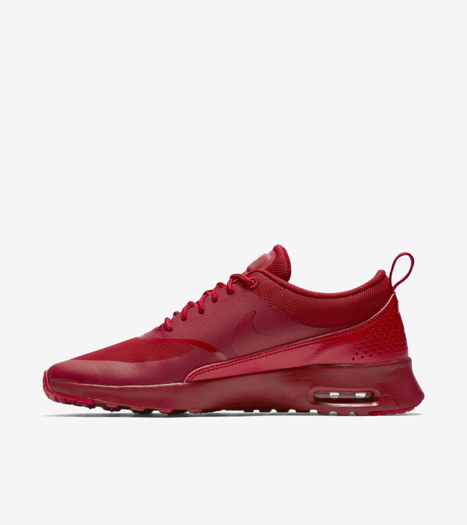 b722761e27 Women's Nike Air Max Thea 'Ruby Red'. Nike⁠+ SNKRS