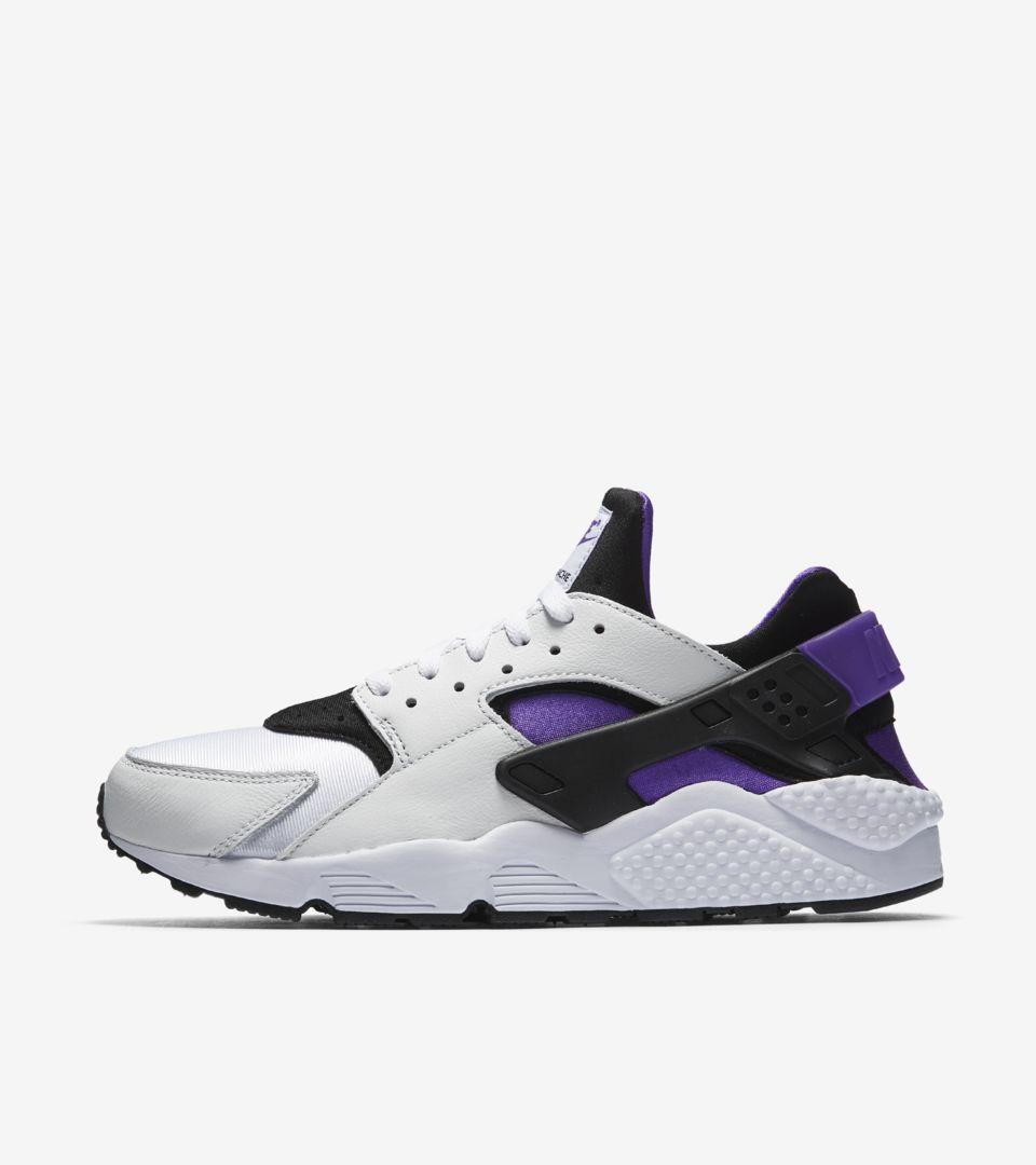 f237c8b0e1b Nike Air Huarache Run  91  White   Purple Punch  Release Date. Nike+ SNKRS