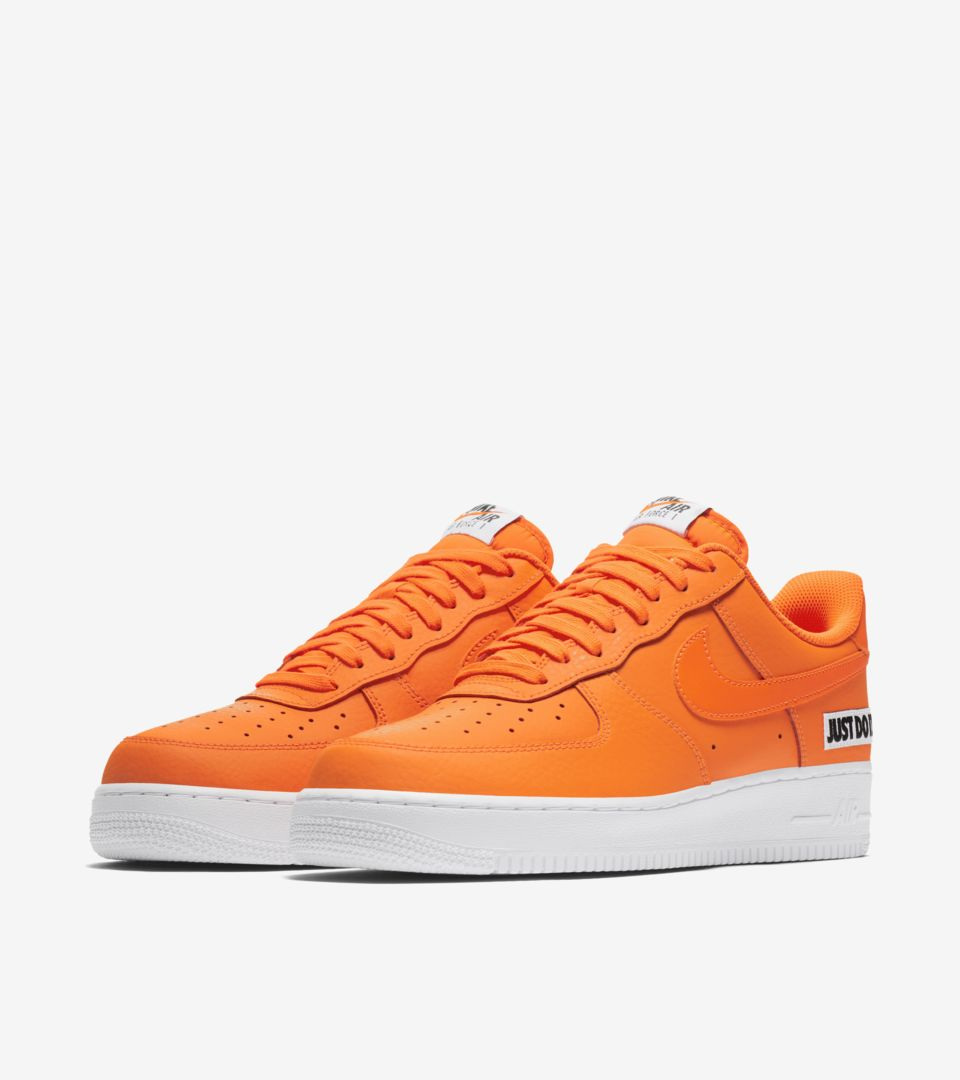 ecfe3aa4006 Nike Air Force 1 JDI Collection 'Total Orange & White' Release Date ...