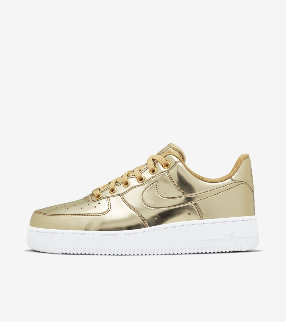air force 1 donna con oro