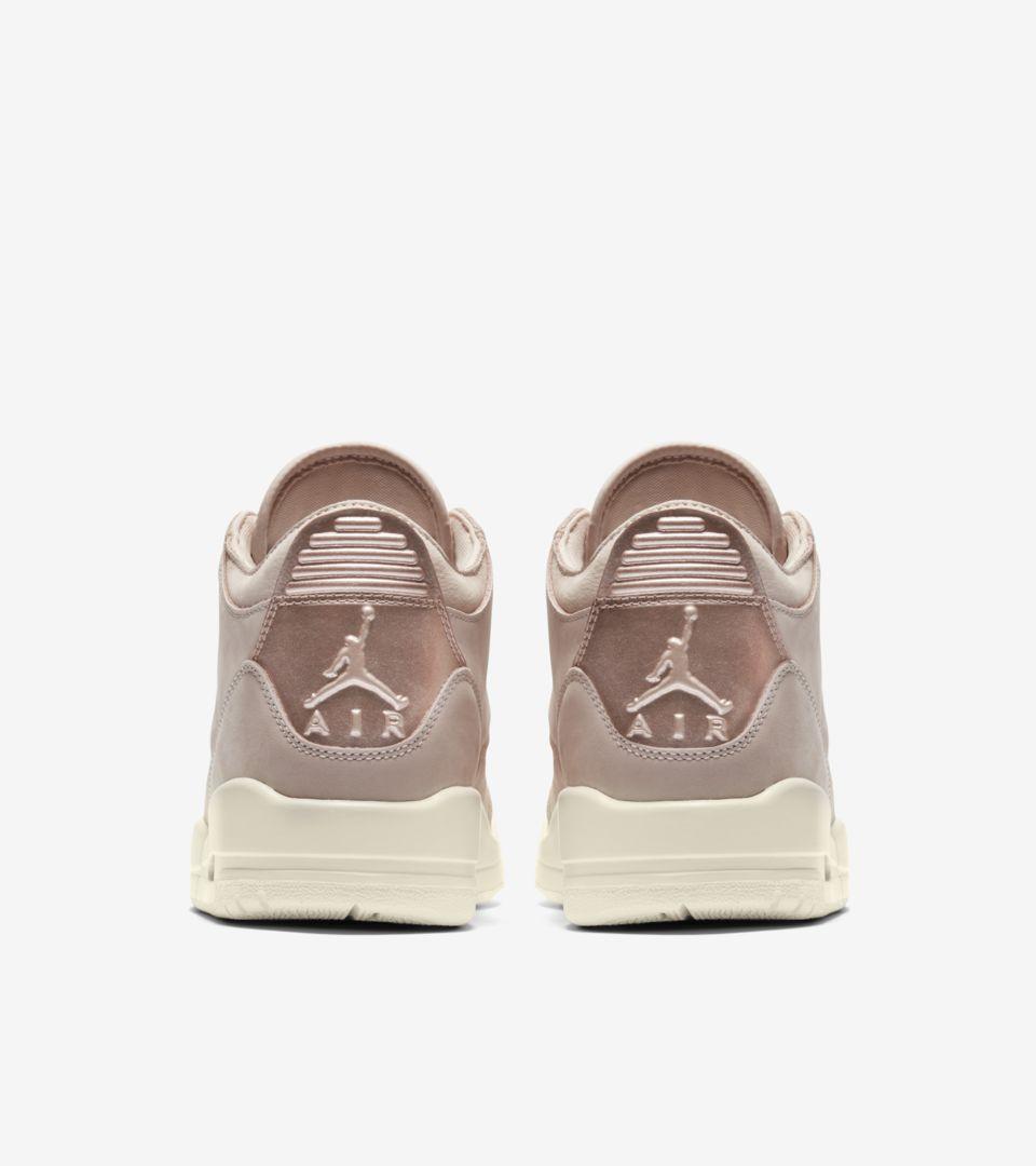 sports shoes 5357d c27e1 女款Air Jordan 3 SE Retro  Particle Beige  amp  Metallic Red Bronze ...