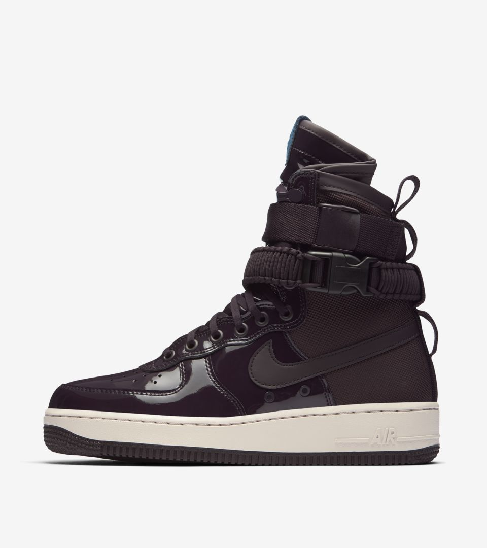 5036376a9 Women's Nike SF AF-1 Premium 'Port Wine' Release Date. Nike⁠+ SNKRS