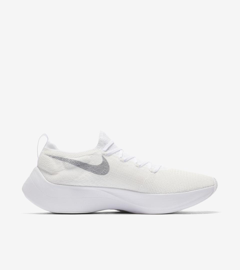 48ed377bcd46 Nike React Vapor Street Flyknit  White   Wolf Grey  Release Date ...