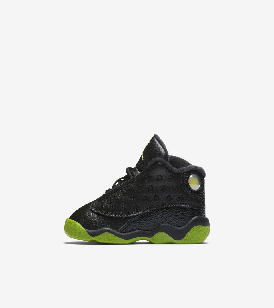 new products 0b8a4 5eaf8 Air Jordan 13 'Black & Altitude Green' Release Date. Nike+ ...