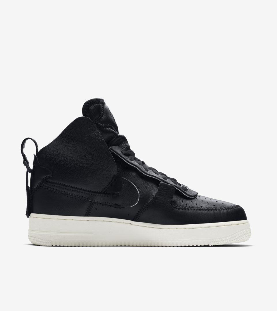 Nike Air Force 1 High PSNY 'Black' Release Date