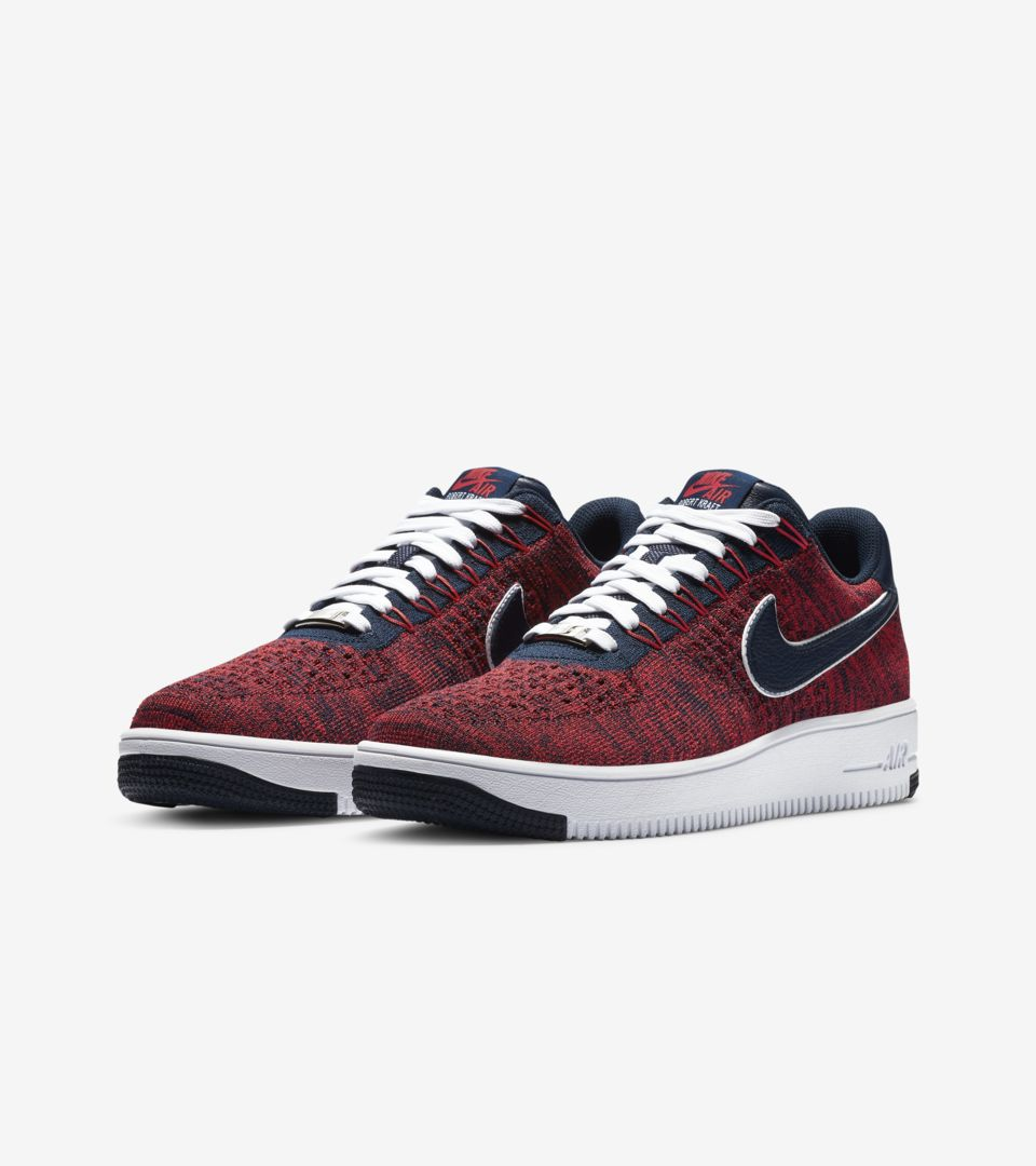 huge selection of 1d17b 1859d Nike Air Force 1 Ultra Flyknit Low RKK 'University Red ...
