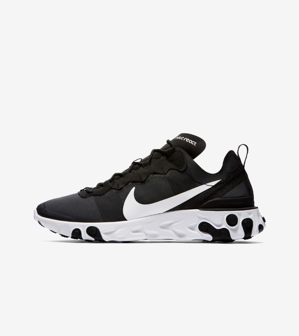 gas Maravilla Tormento  Nike React Element 55 'Black & White' Release Date. Nike SNKRS