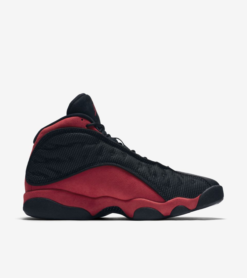 Air Jordan 13 Retro  Bred  2017 Release Date. Nike⁠+ Launch GB e87b688d6