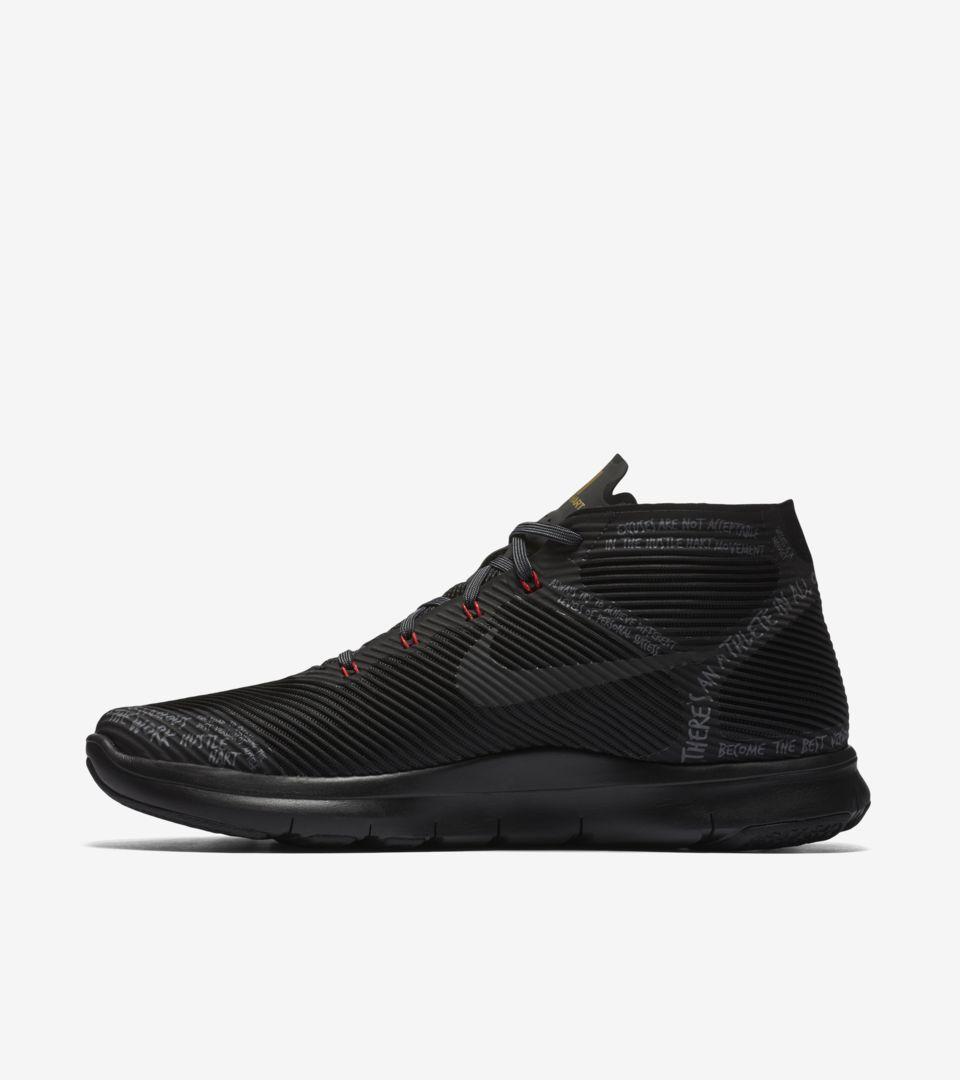 31c714d16e250 Nike Free Train Instinct  Hart  Black. Nike+ SNKRS