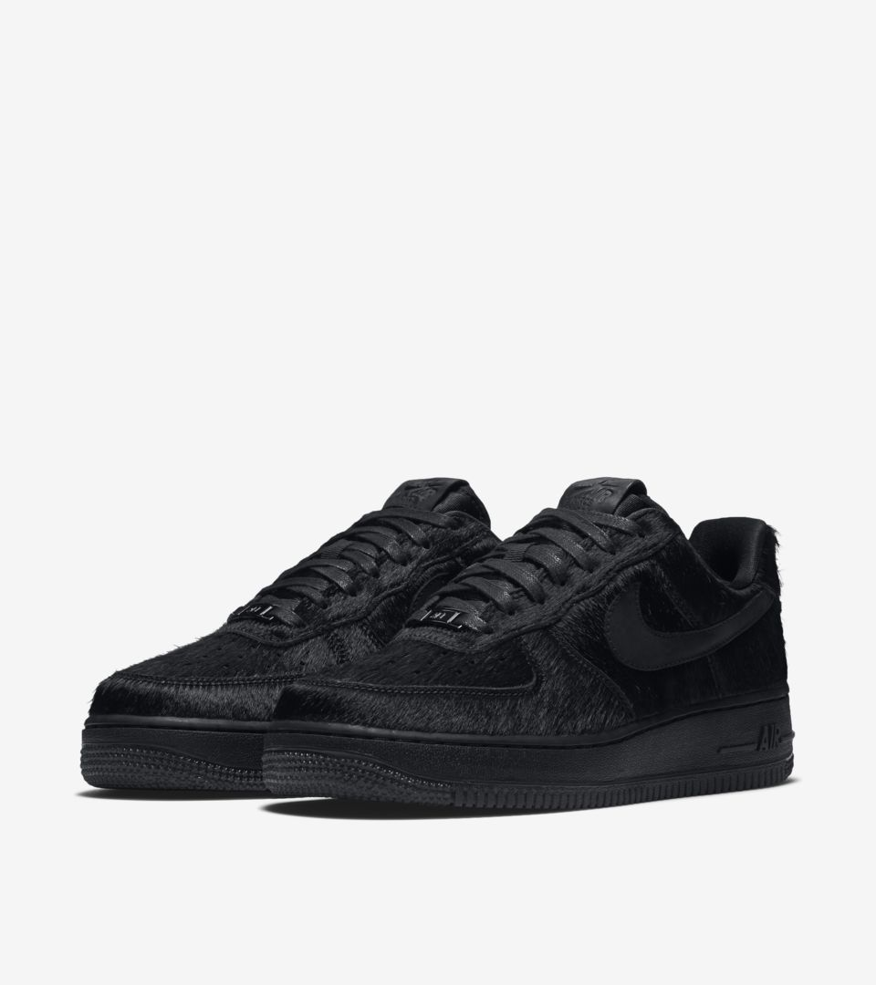 nike air force 1 07 low black