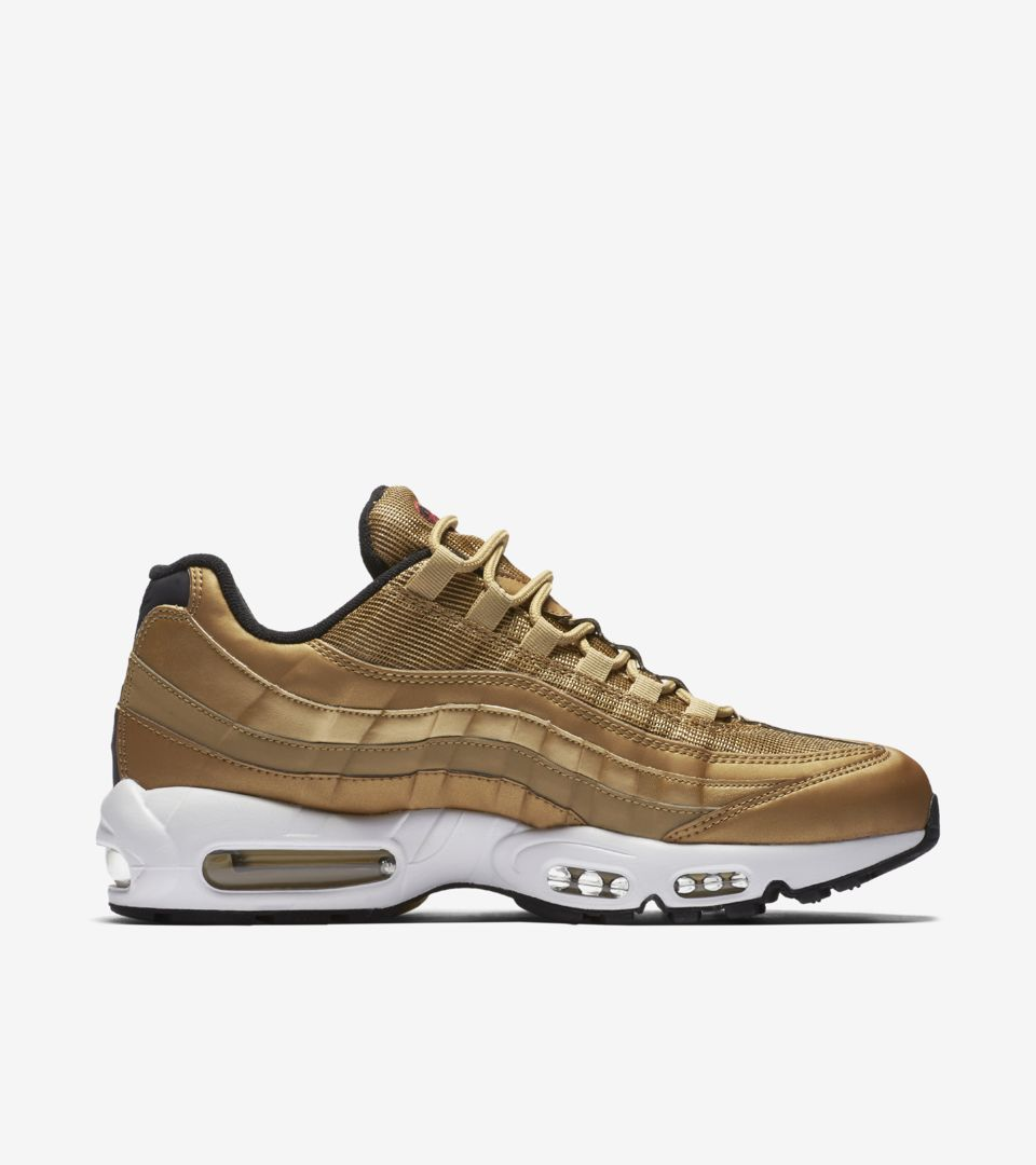 e6138a1f537d45 Nike Air Max 95  Metallic Gold  Release Date. Nike⁠+ SNKRS