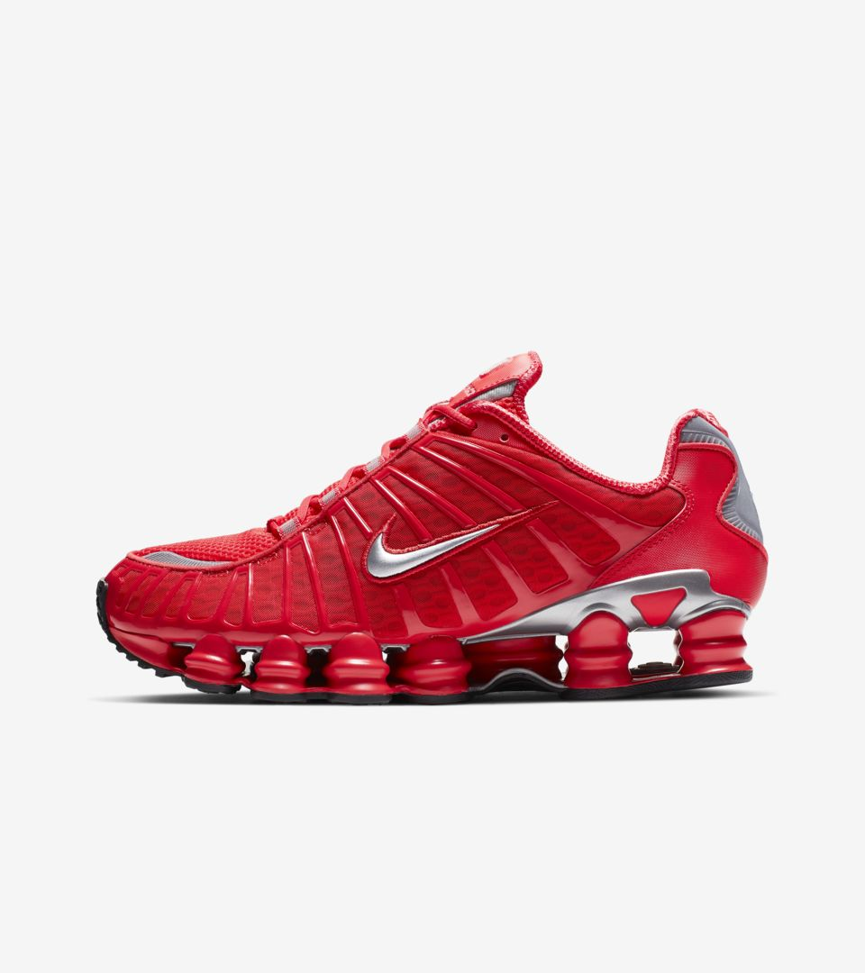 attractive price lace up in quite nice Nike Shox TL 'Speed Red and Metallic Silver' Release Date ...