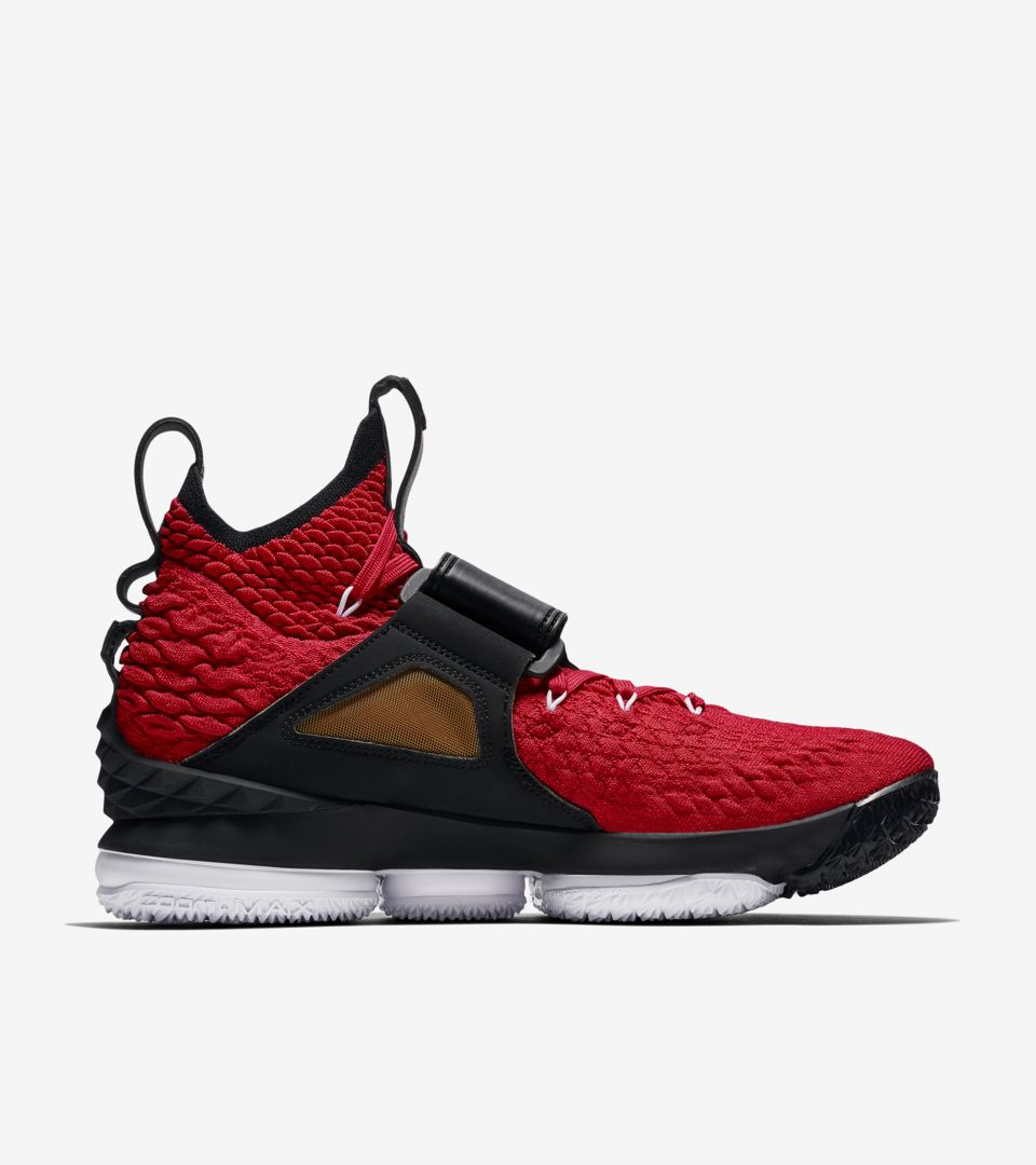 huge selection of 4ed01 8f666 Lebron 15 'University Red' Release Date. Nike+ SNKRS