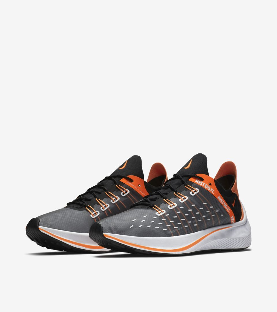 0a7bef7998949 Nike EXP-X14 SE Just Do It Collection  Black   Total Orange   White ...