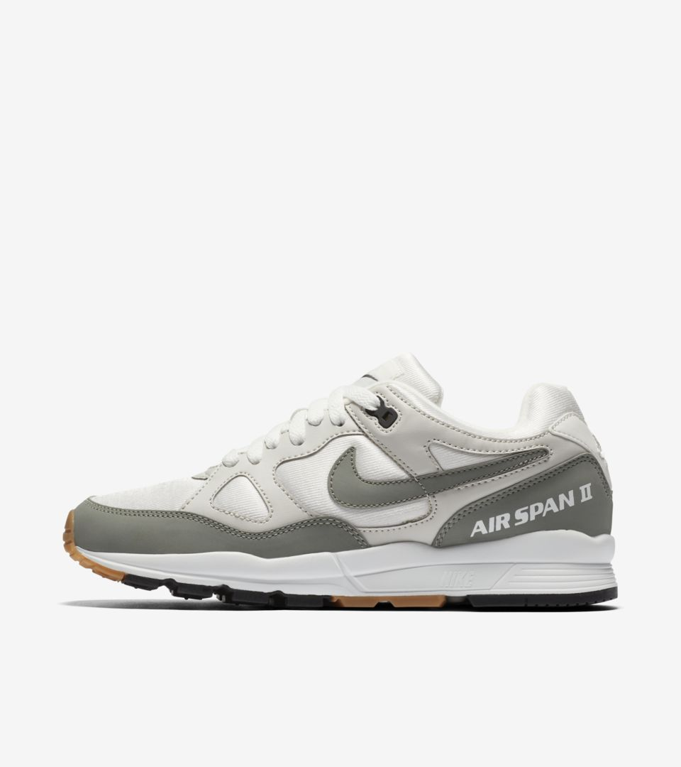 Nike Air Span 2 'Summit White & Dark Stucco' voor dames ...