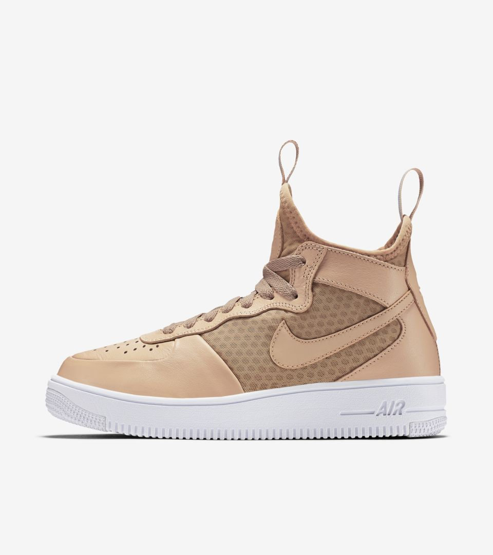 super popular 414d1 d61dd Women's Nike Air Force 1 Ultraforce Mid 'Vachetta Tan'. Nike ...