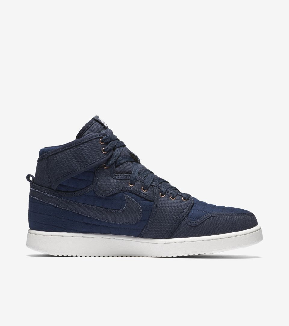 best value d9fd2 56c5b Air Jordan 1 Retro KO  Blue Quilted  Release Date. Nike⁠+ SNKRS
