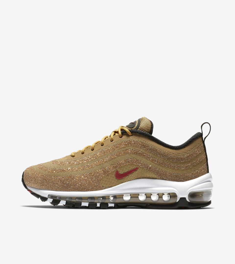 info for 2d60d 86854 ... Women s Nike Air Max 97  Gold Swarovski Crystal  ...