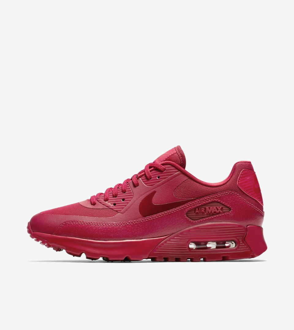 Women's Nike Air Max 90 'Ruby Red'. Nike SNKRS