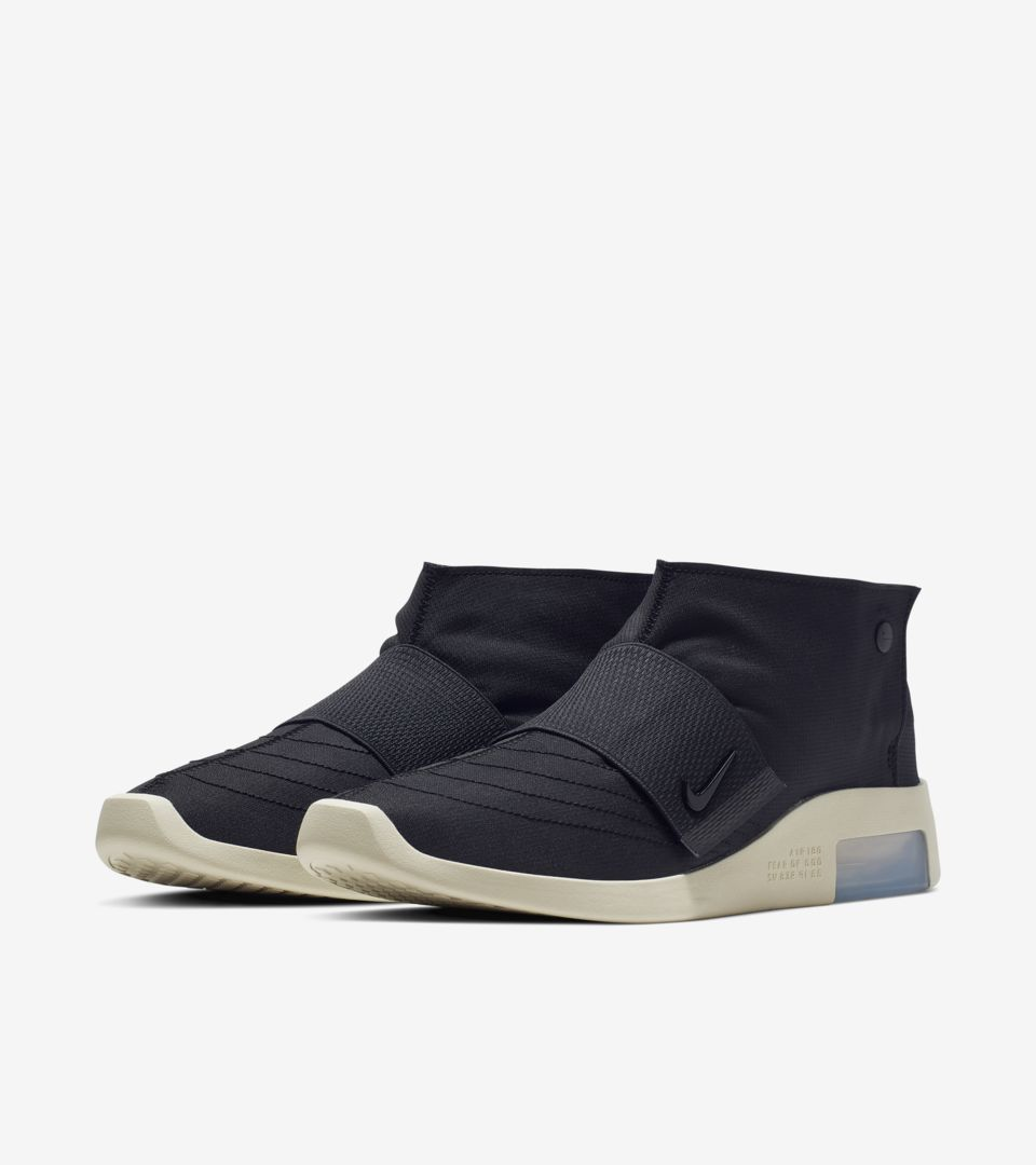 Nike Air Fear of God Moccasin Black Release Date | SneakerFiles