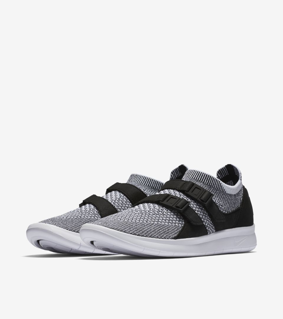 99ff84149f6 Women s Nike Air Sock Racer Ultra Flyknit  Black   White . Nike⁠+ SNKRS