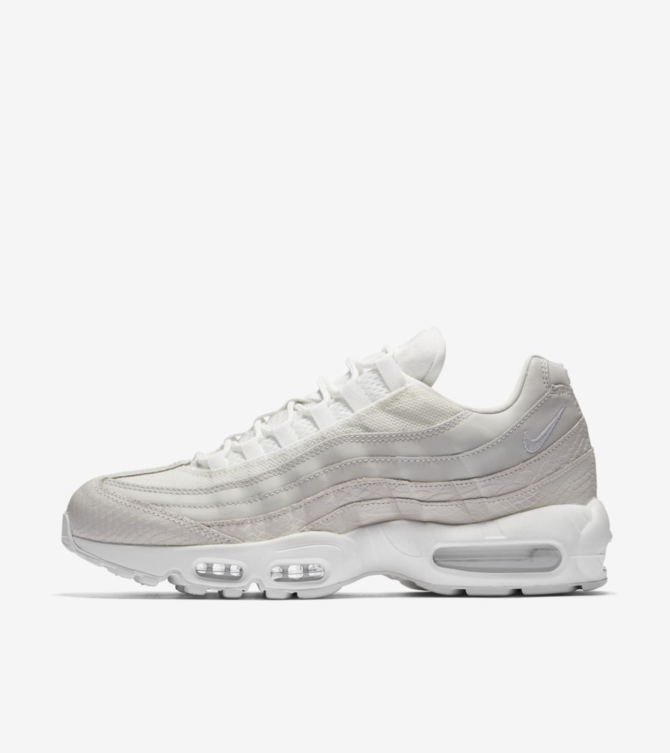 Nike Air Max 95 W shoes white beige black | WeAre Shop