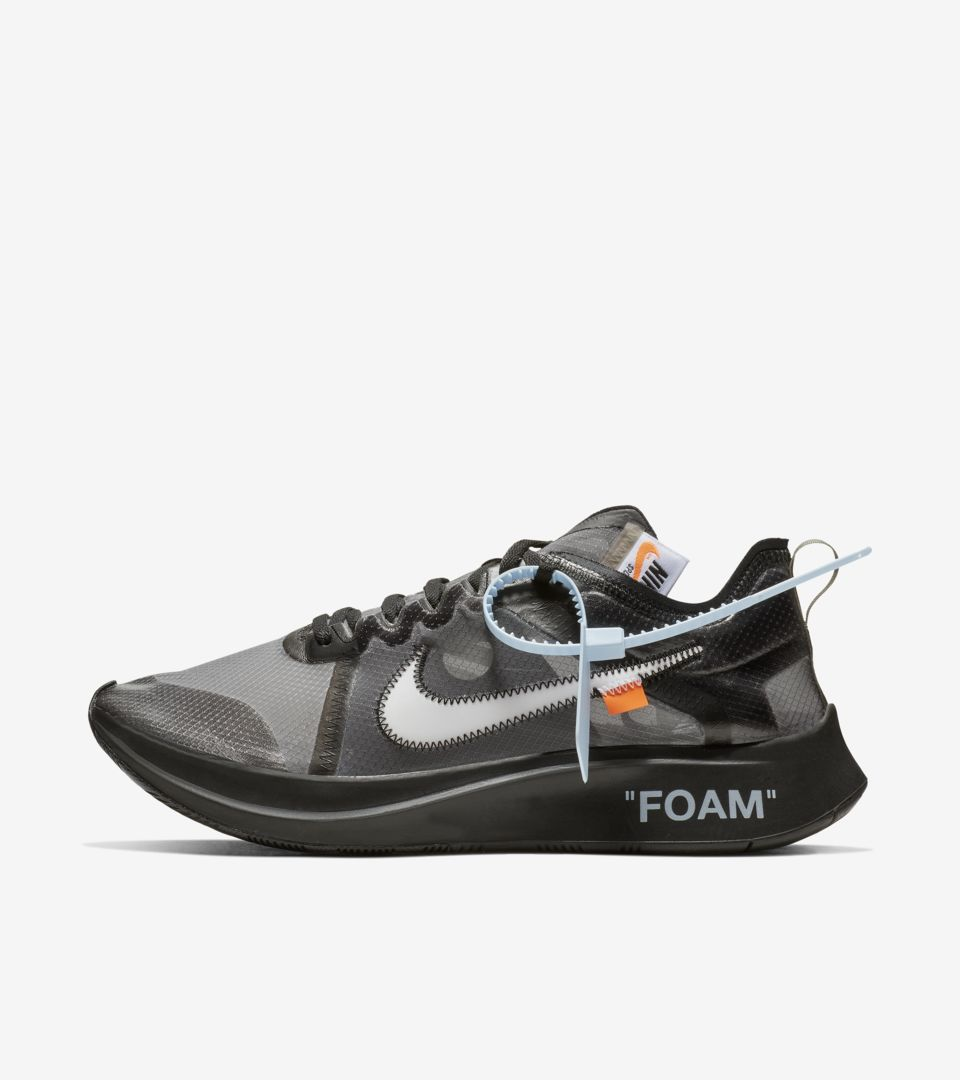 00e9c962b231 The Ten  Nike Zoom Fly  Black   Cone   White  Release Date. Nike⁠+ SNKRS
