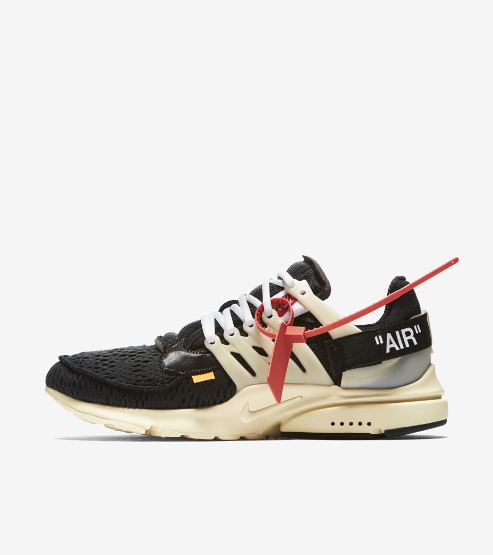 Nike The Ten Presto 'Off White' Release Date. Nike⁠+ SNKRS