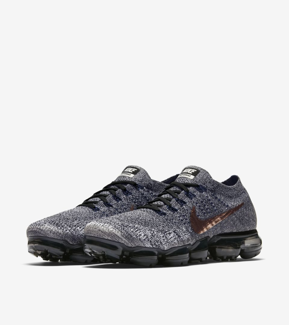 62bce47a520b Nike Air VaporMax  College Navy   Metallic Red Bronze  Release Date ...