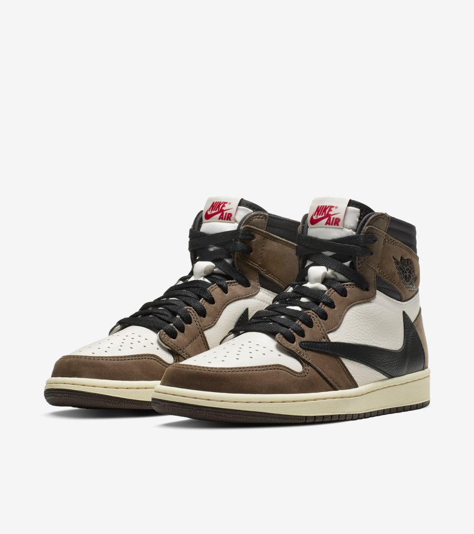 Air Jordan 1 High 'Travis Scott' Release Date. Nike⁠+ SNKRS