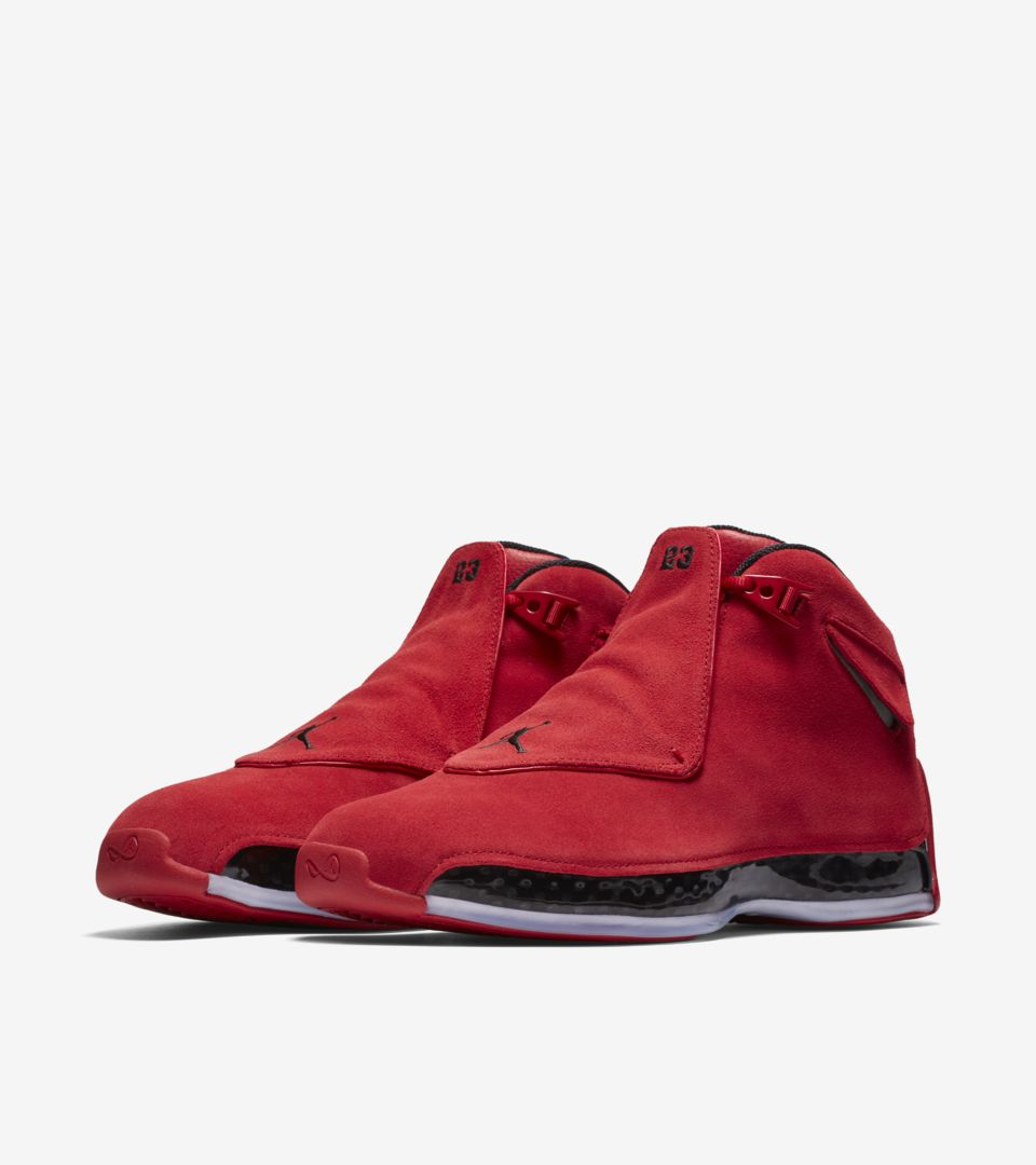 6f69411a2c5a Air Jordan 18  Gym Red   Black  Release Date. Nike⁠+ SNKRS