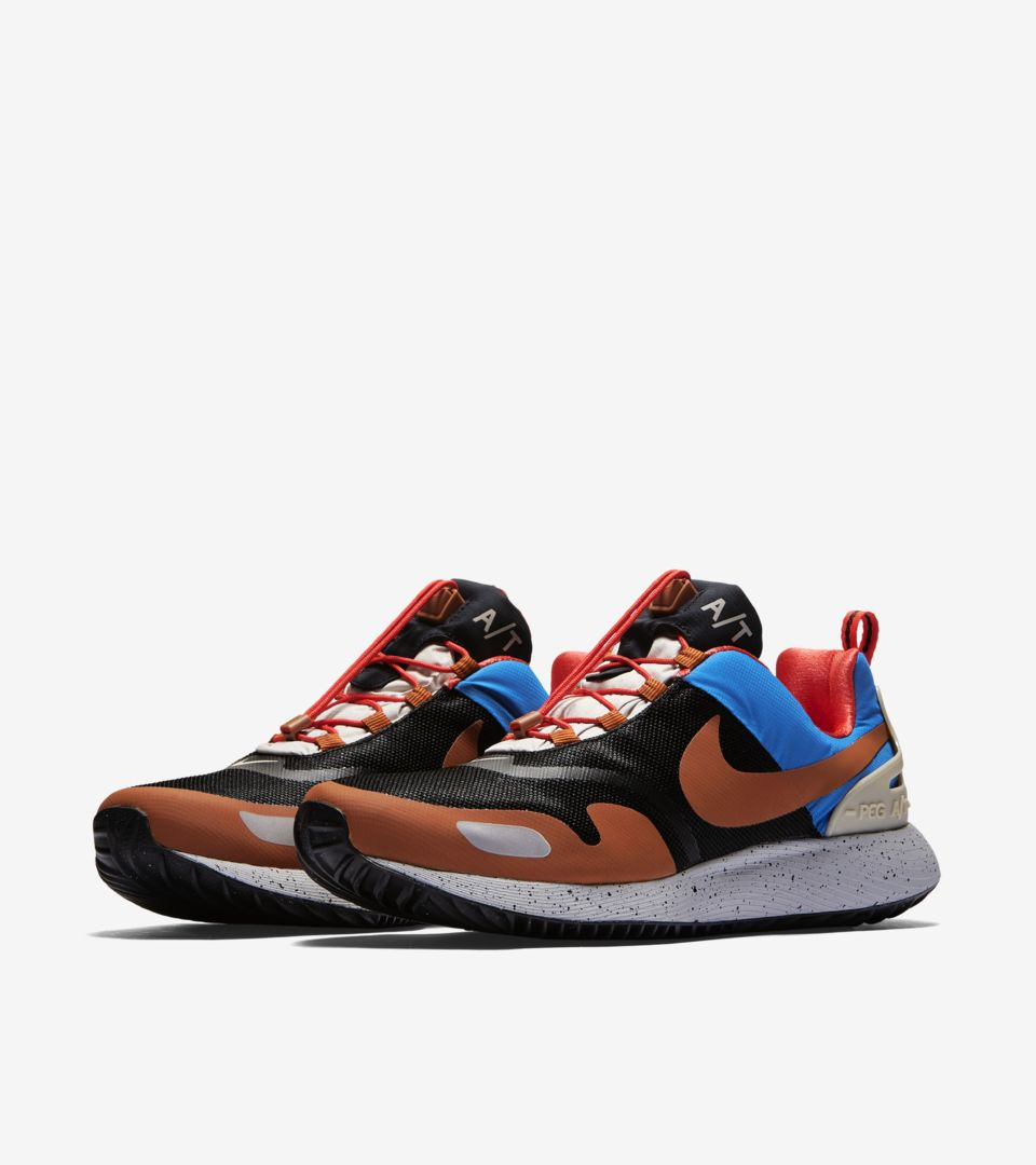 cba6f35b4ae2 Nike Air Pegasus A T  Black   Blue Nebula  Release Date. Nike+ SNKRS