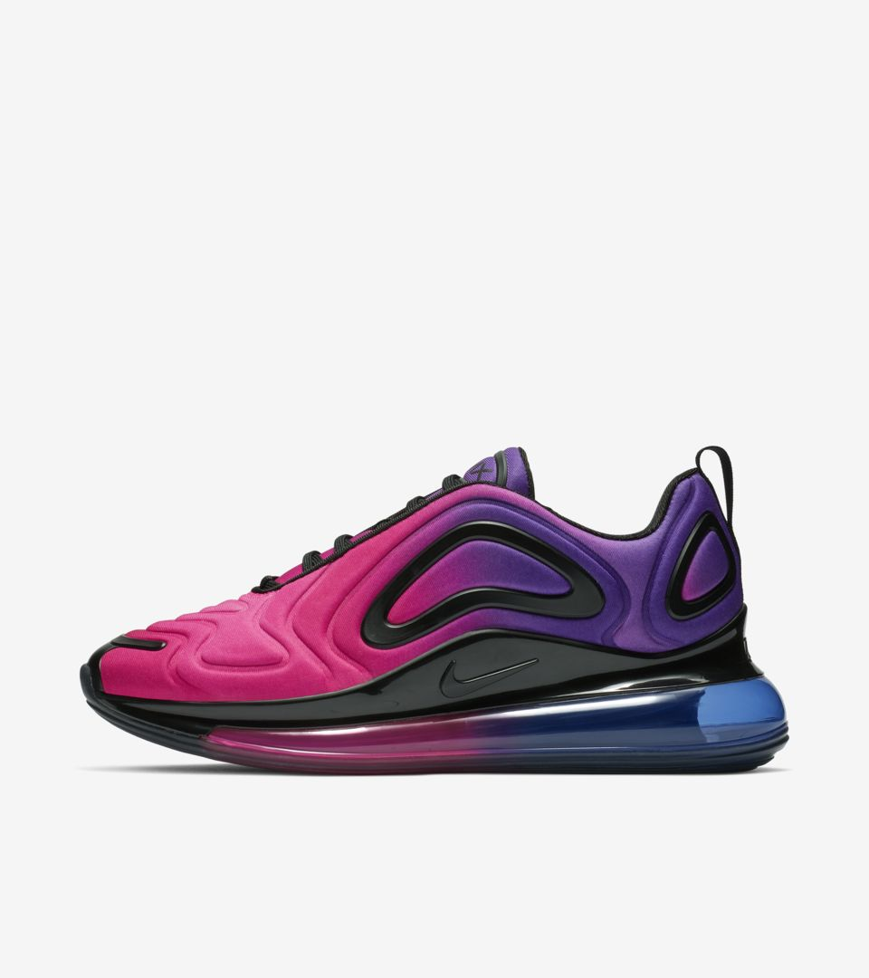 Women's Air Max 720 'Hyper Grape & Black & Hyper Pink ...