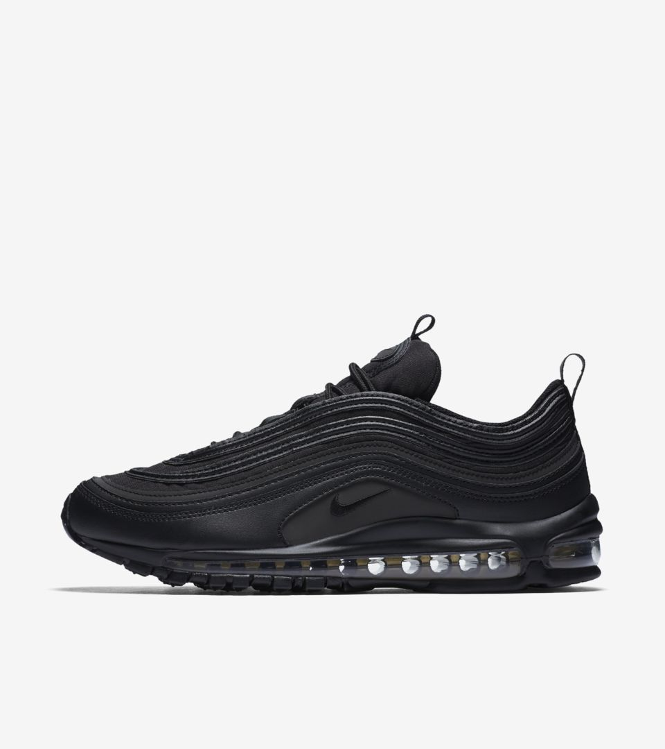 new product 36051 198a3 Nike Air Max 97 Premium 'Black & Gold' Release Date. Nike⁠+ ...