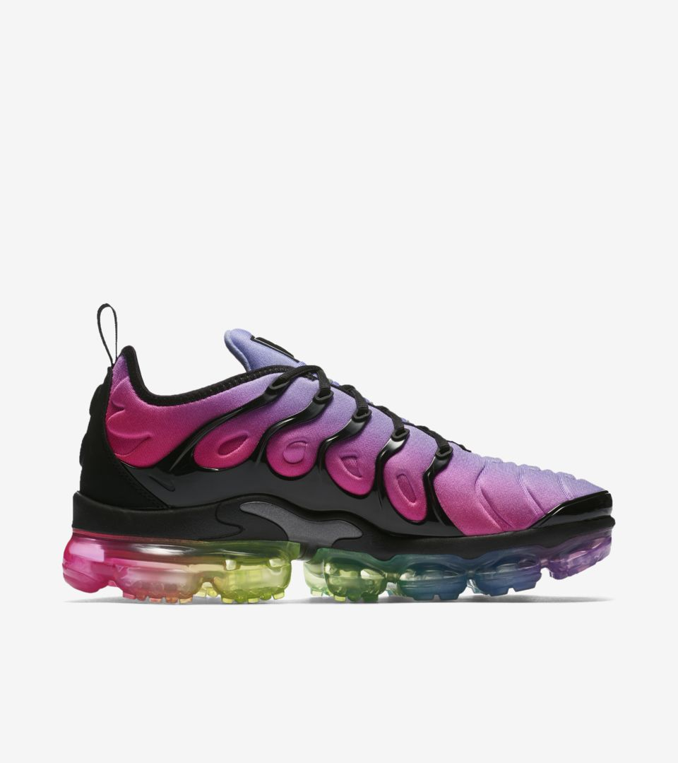 new arrival bd26d 487fc Nike Air Vapormax Plus Betrue 'Black & Multicolor' Release ...