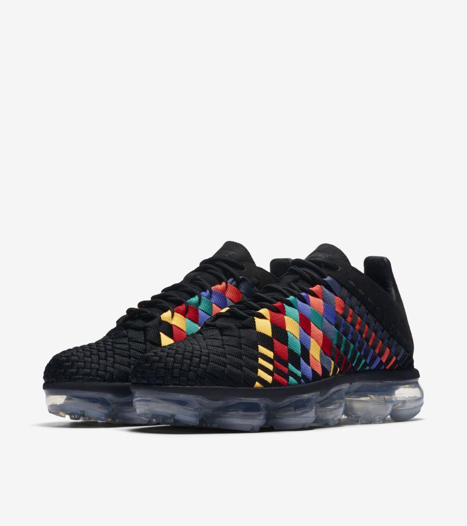 c7c7936442240 Nike Air Vapormax Inneva  Black   Multicolor  Release Date. Nike+ SNKRS