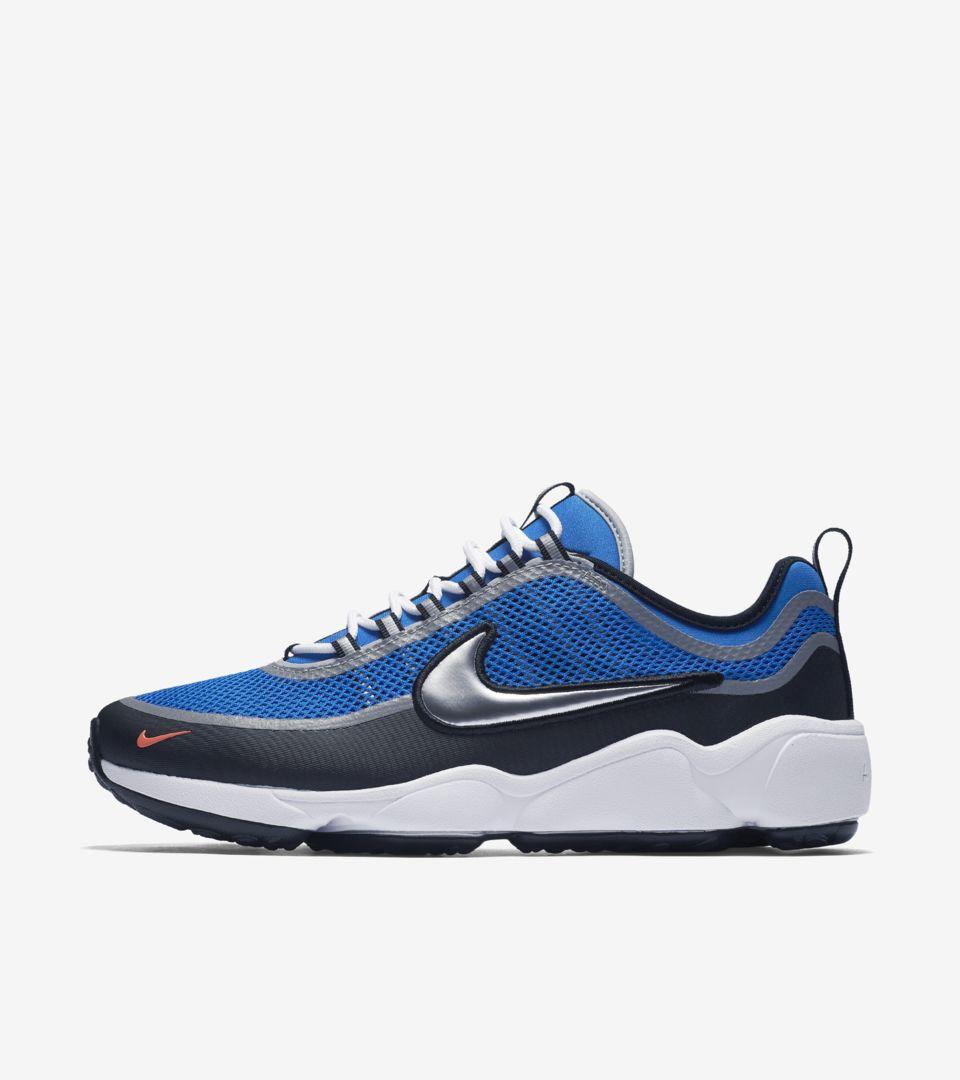 hot sale online e89de 004d0 Nike Air Zoom Spiridon Ultra  Regal Blue . Nike+ Launch FI
