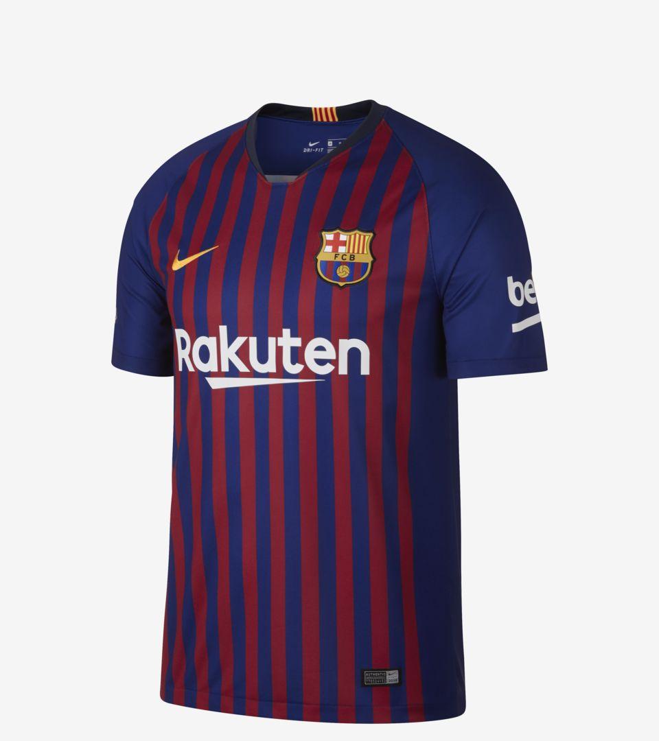 f7531f8df40 FC Barcelona 2018 19 Stadium Home Kit. Nike.com AU