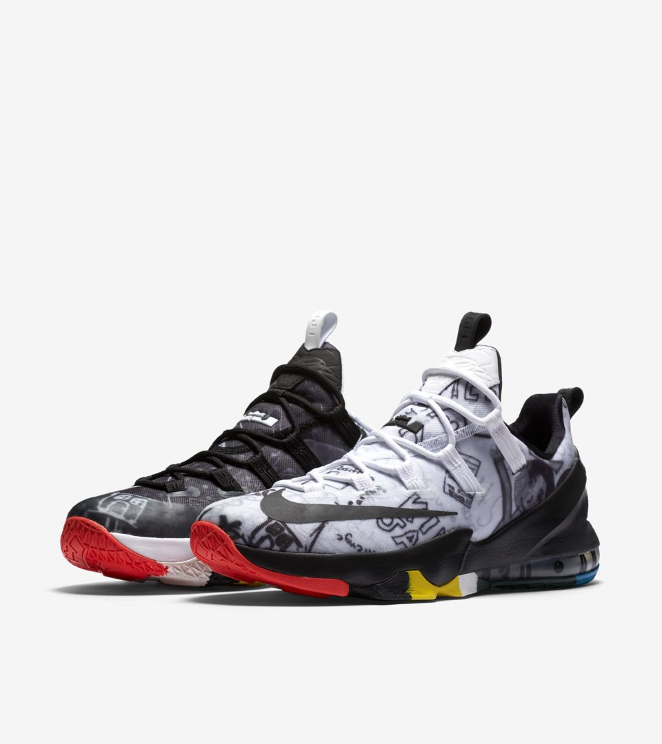 d2a151bd6ea Nike LeBron 13 Low Limited  Multi-Color  Release Date. Nike⁠+ SNKRS