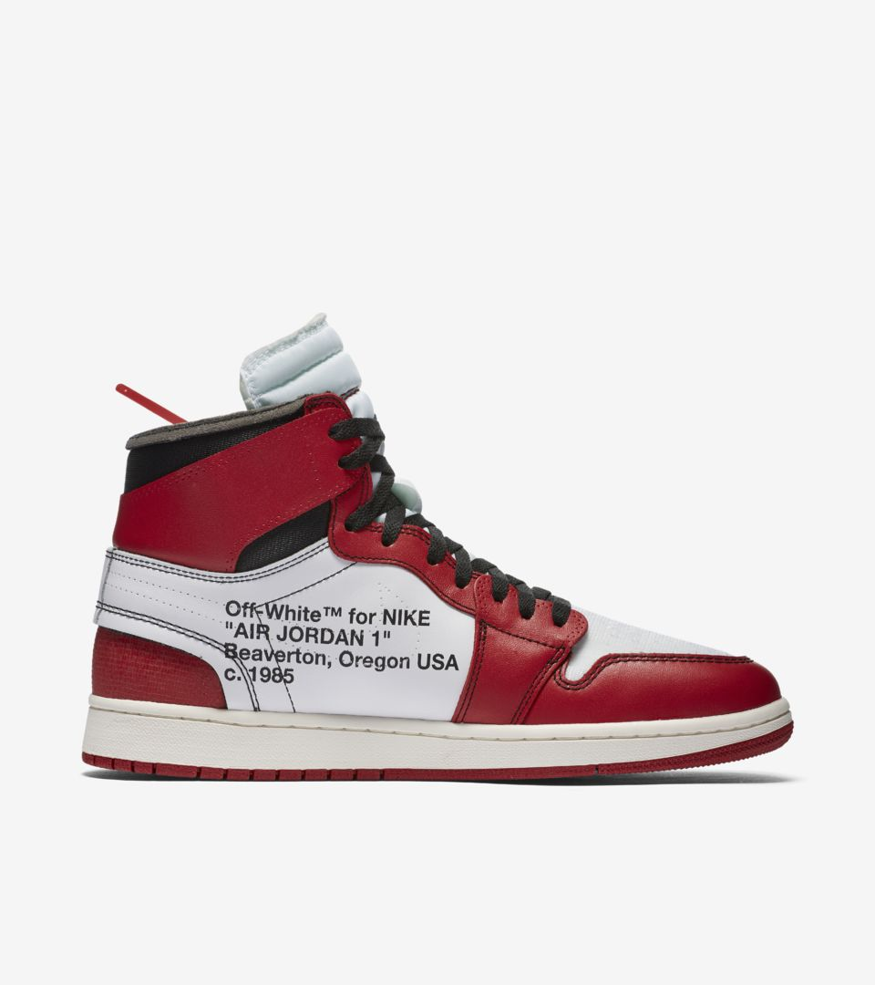 competitive price dec17 af8b1 The Ten Air Jordan 1 'Off White' Release Date. Nike⁠+ Launch GB