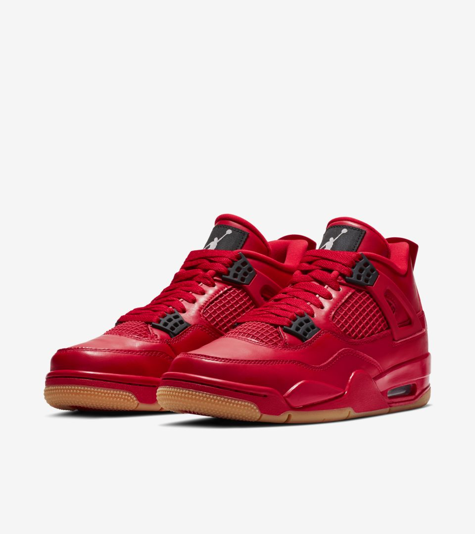 Women s Air Jordan 4  Fire Red   Black  Release Date. Nike⁠+ SNKRS fad773644f