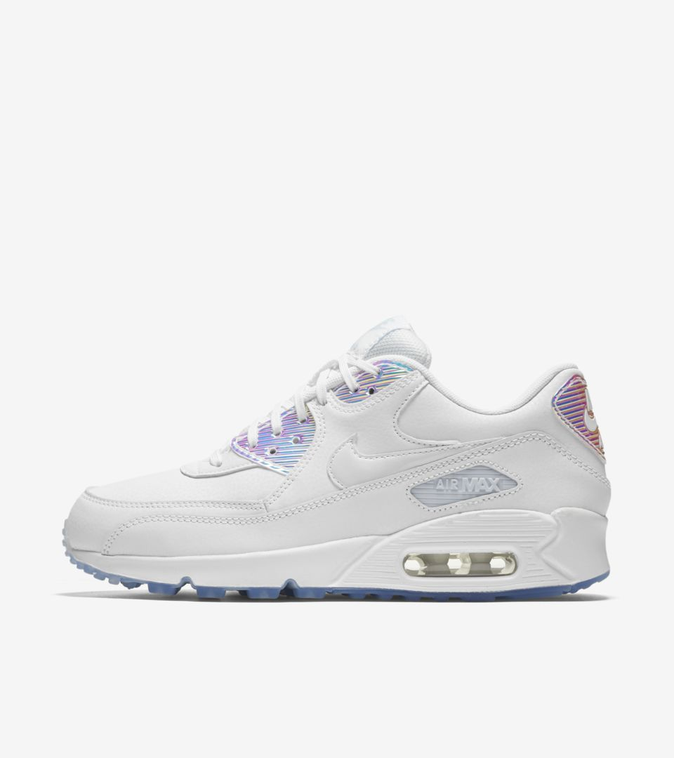Women's Nike Air Max 90 'Summer Shine'. Nike⁠Plus SNKRS