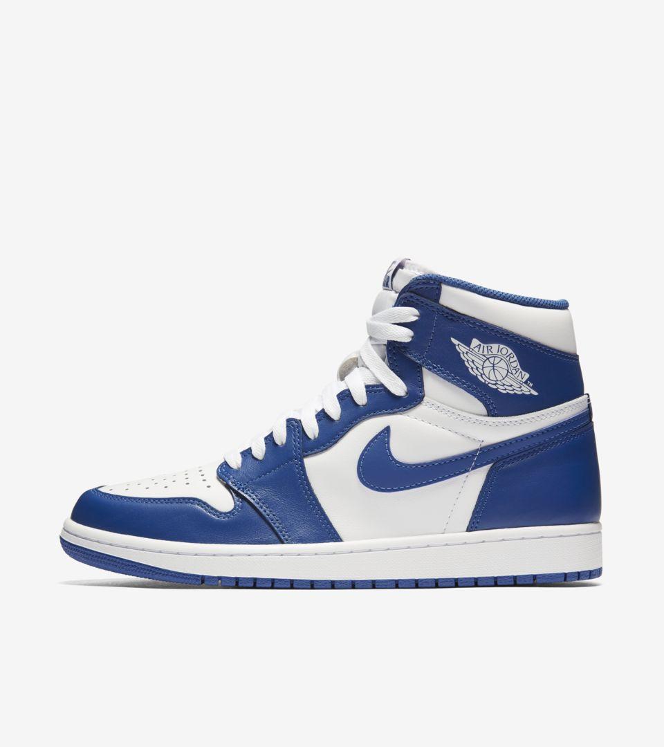Air Jordan 1 Retro Storm Blue Nike Snkrs