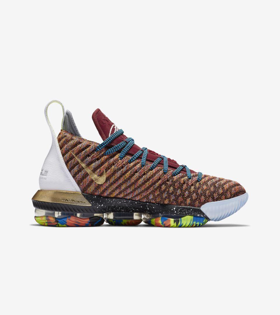 promo code 41d79 a3758 Nike LeBron 16 '1 Thru 5' Release Date. Nike+ SNKRS
