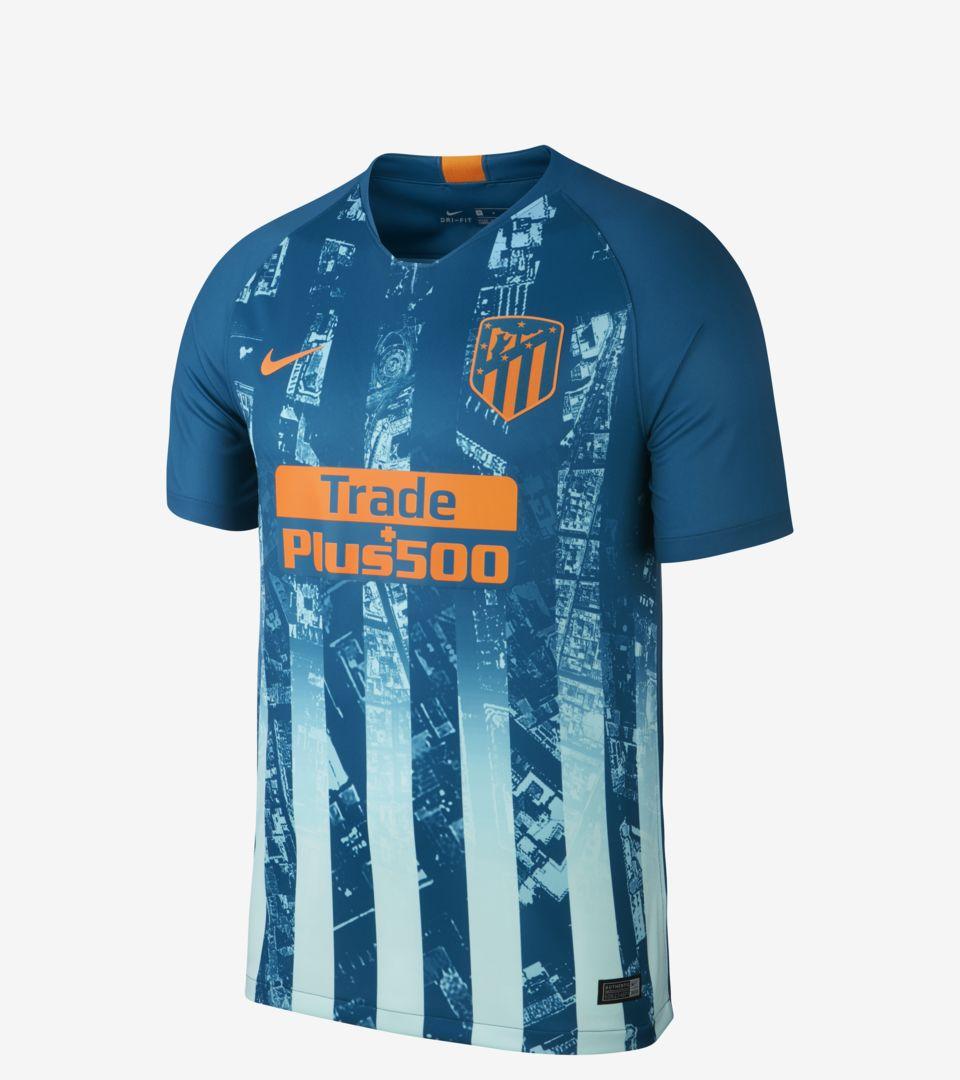 4de58738132 2018/19 Stadium Third Kit. Atlético de Madrid