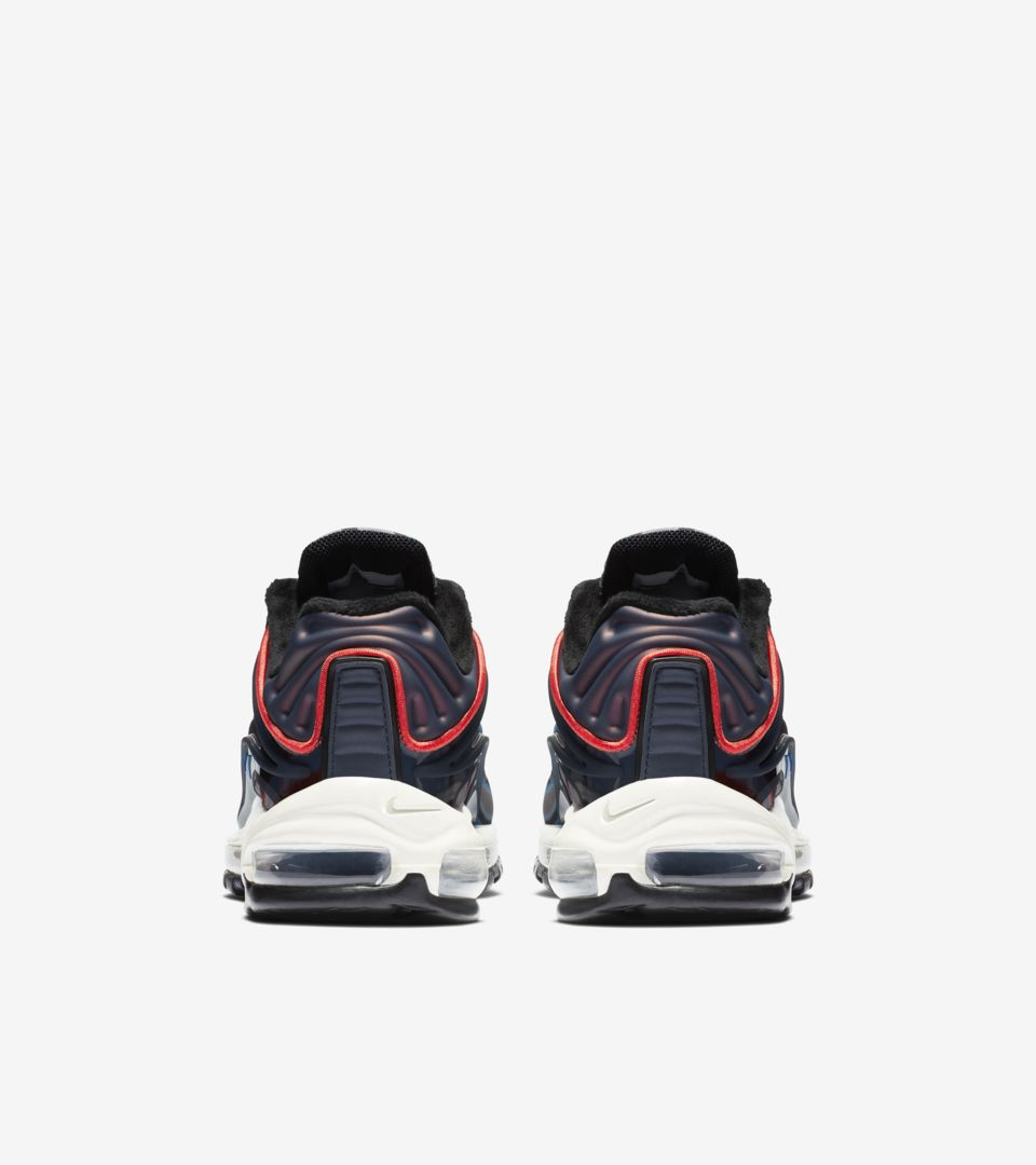 premium selection c6f77 14a40 ... Nike Air Max Deluxe  Thunder Blue   Wolf Grey   Black  ...