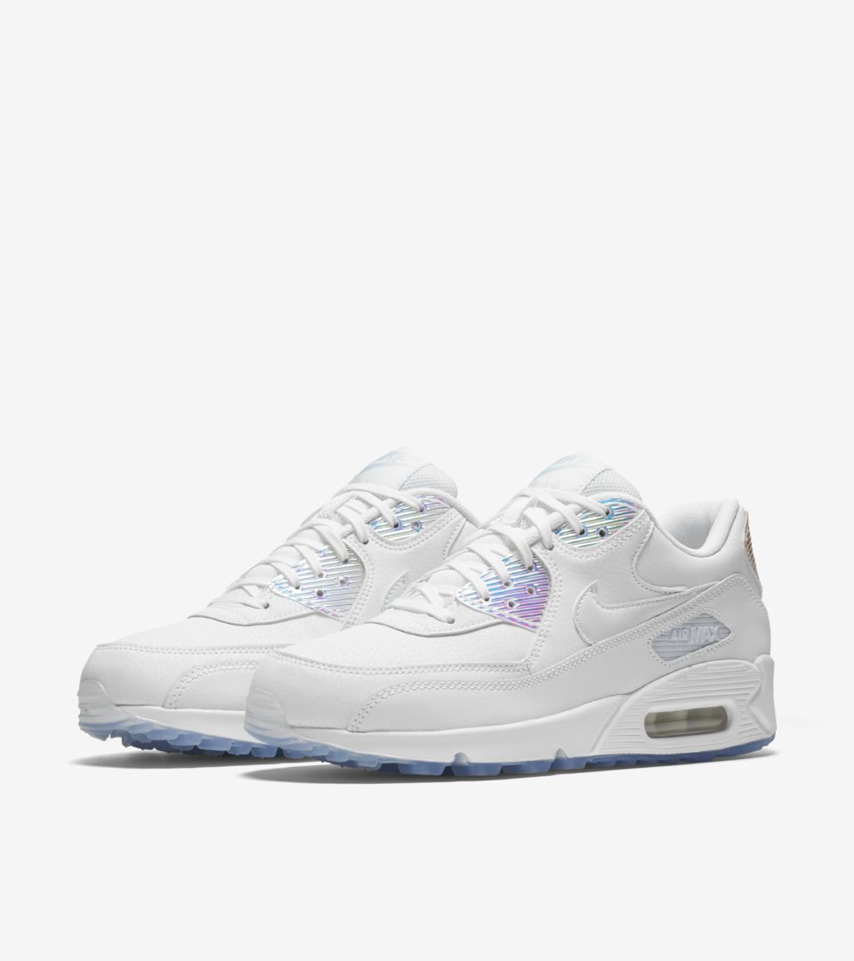 Women s Nike Air Max 90  Summer Shine . Nike⁠+ SNKRS 3da1a3c0e1