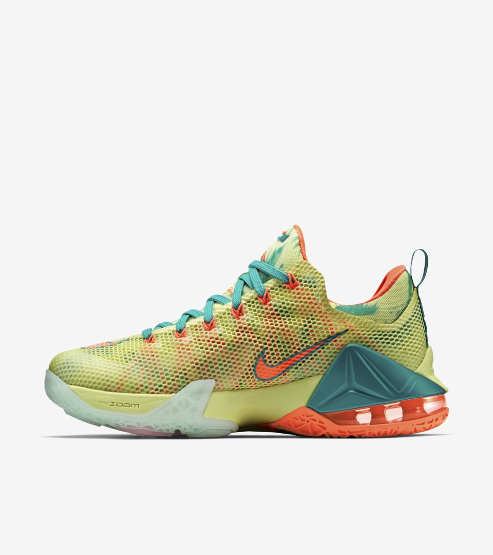 sale retailer 13a07 9a0c7 Nike LeBron 12 Low  Summer Standard  Release Date. Nike+ SNKRS