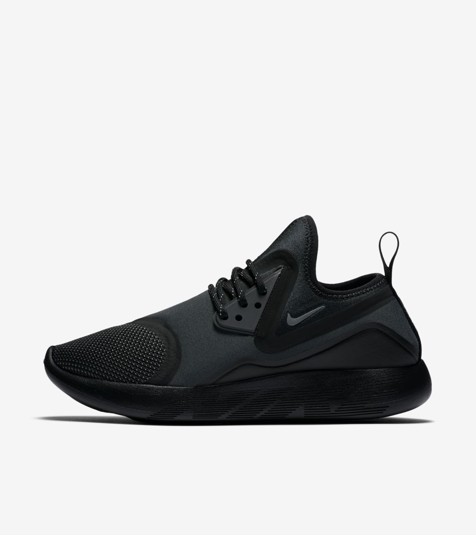 10e8adcdaa97 Women s Nike LunarCharge Essential  Triple Black . Nike+ SNKRS
