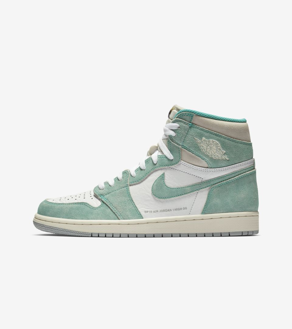 Air Jordan 1 Turbo Green White Light Smoke Grey Release Date